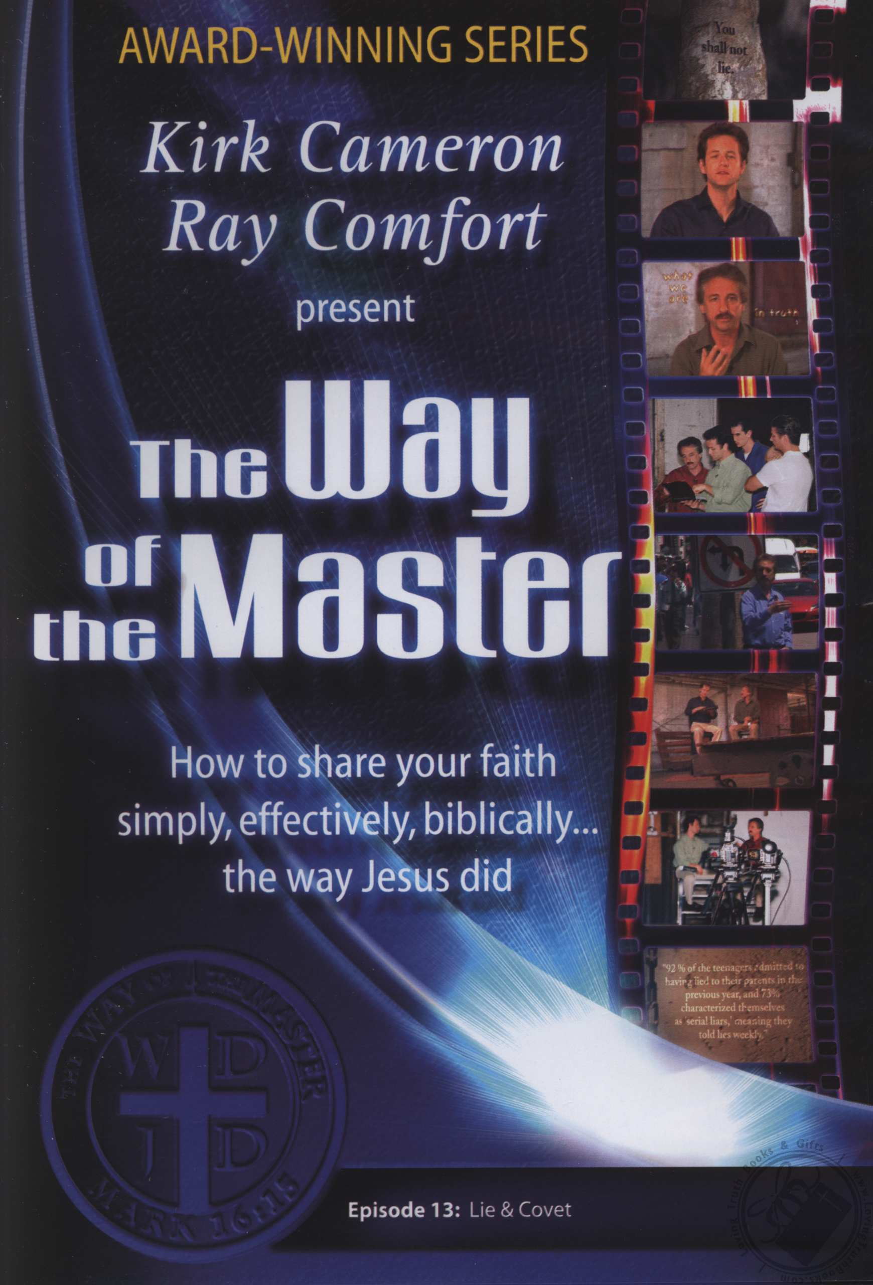 Set: Way of the Master Season 1 (7 DVD Set) by Ray Comfort