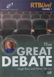 The Great Debate: A Debate with Hugh Ross and Michael Stenger at the 2008 Skeptics Society Conference (RTB Live! Vol. 1),Victor Stenger, Hugh Ross
