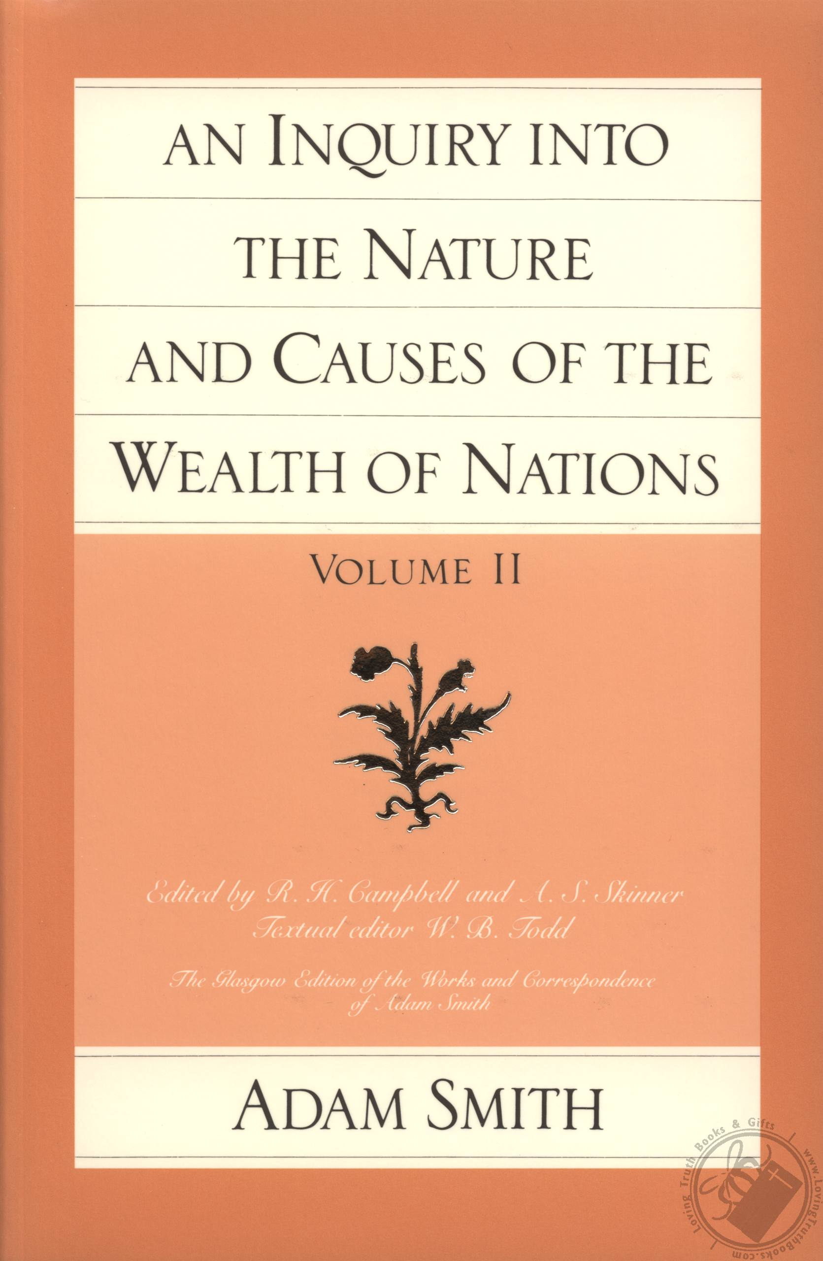 "an analysis of the wealth of nations a book on political economy by adam smith Adam smith's ""the wealth of nations"" gives an in he was the first economist to make an in-depth analysis genres for this book economics/political economy."