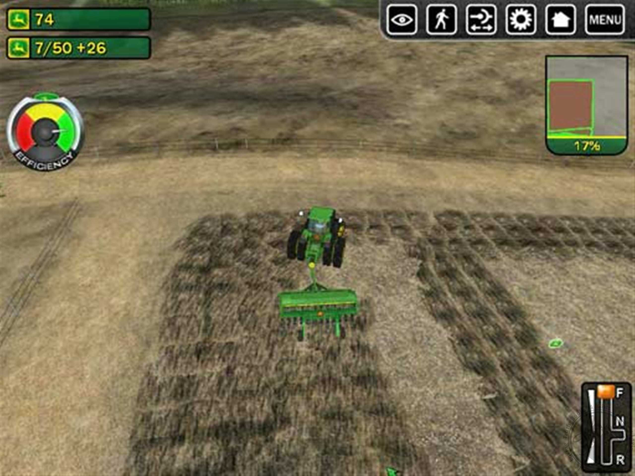 Игру John Deere Drive Green
