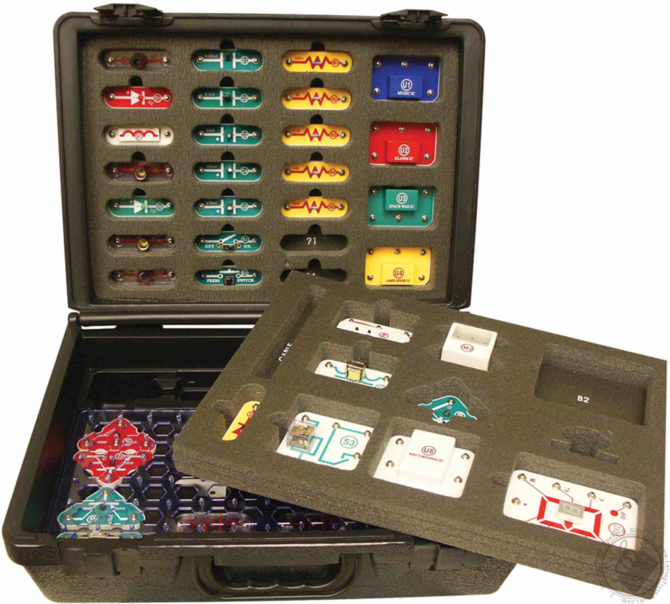 Snap Circuits Sc 500 R Student Training Program Includes Elenco Electronic Set Share With Others