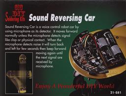 Sound Reversing Car (Electronic Experiment Kit - Requires Soldering),Elenco Electronics