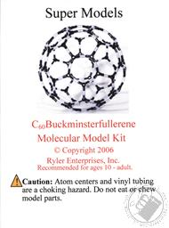Buckyball - C60 Buckminsterfullerene Molecular Model Kit,Ryler Enterprises