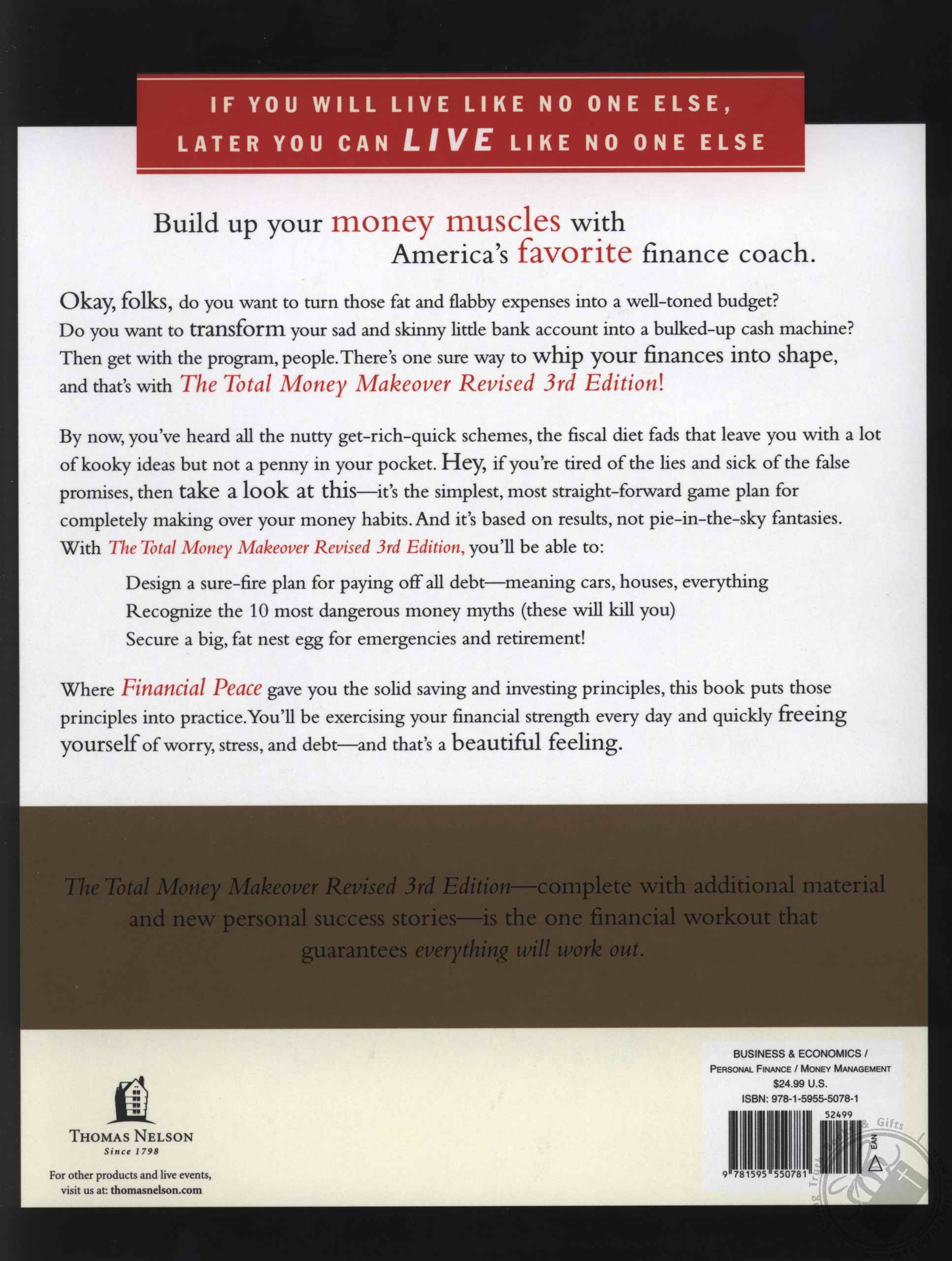 Set total money makeover a proven plan for financial fitness book share with others solutioingenieria Images