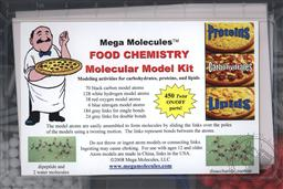 Food Chemistry Molecular Model Kit,Mega Molecules LLC