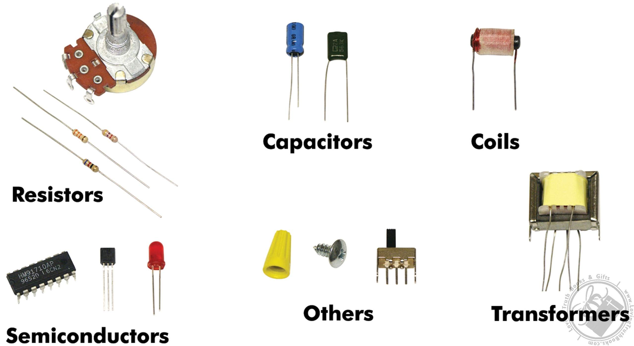 Basic Electronic Components Training Course (Model ECK-10) by Elenco ...