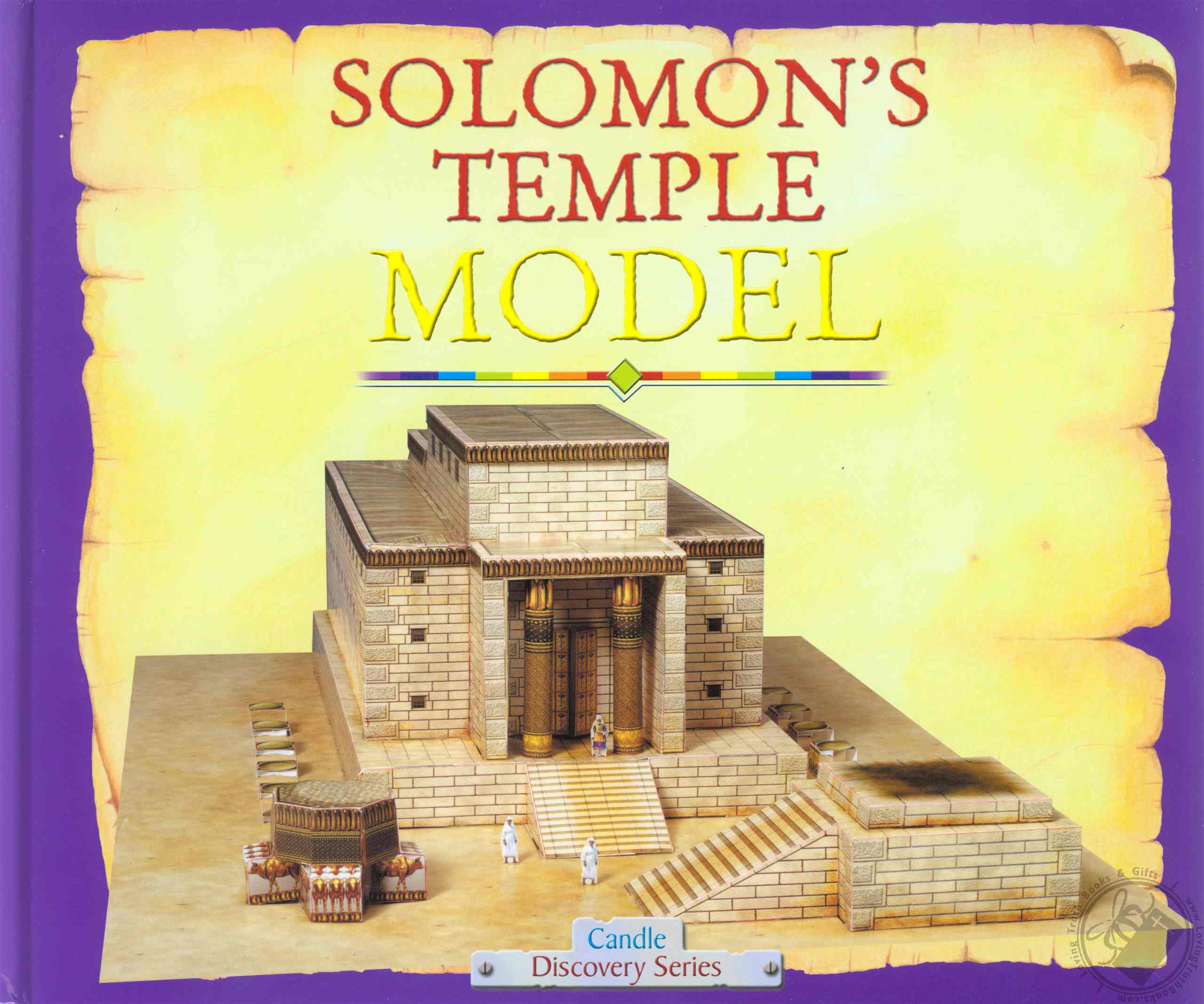 Solomon S Temple Model Craft