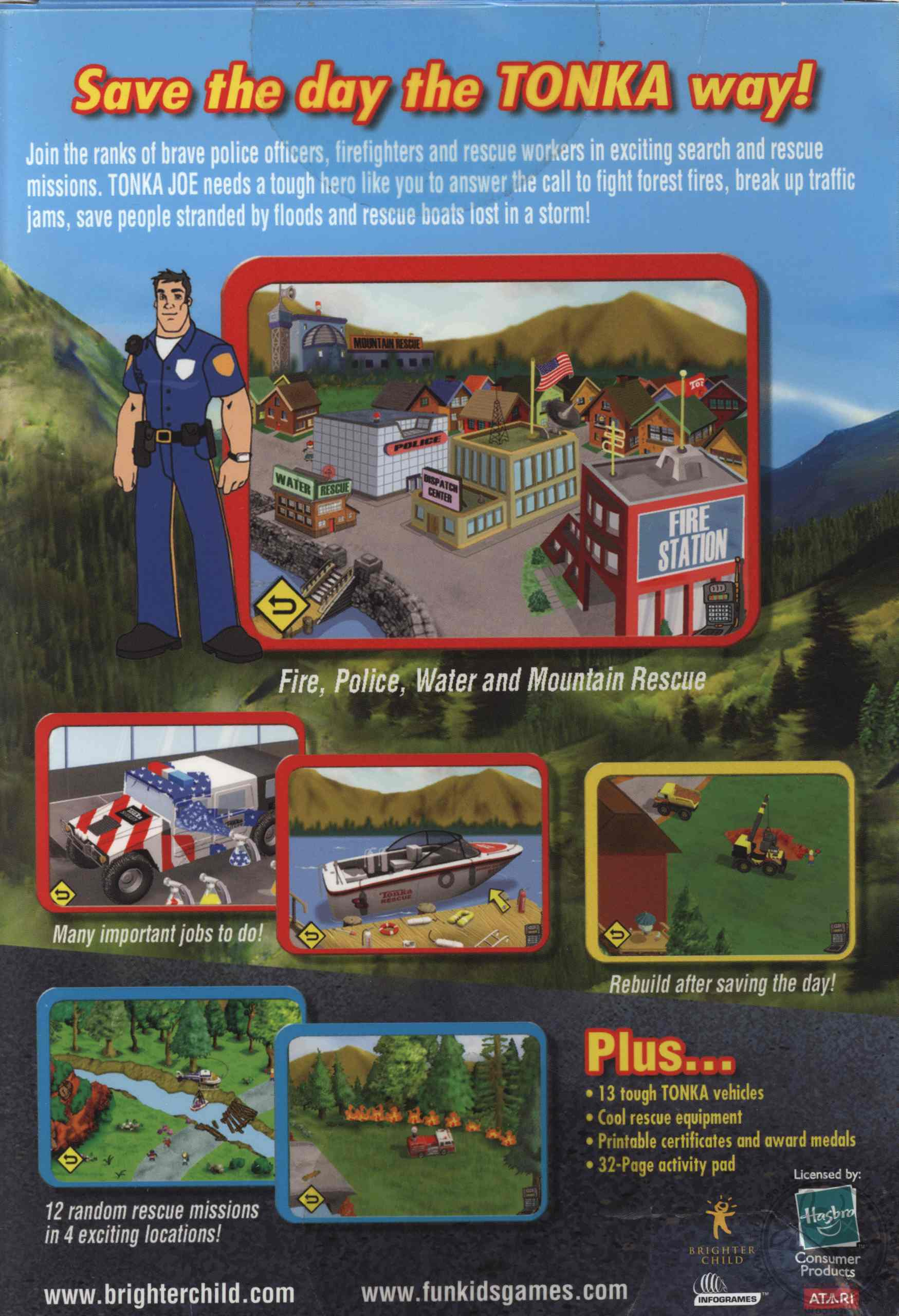 Tonka Search & Rescue 2 PC Game with Printable Activity Pad (CD ROM