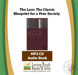 The Law: The Classic Blueprint for a Free Society Frederic Bastiat (Audiobook - MP3 CD)