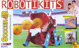 OWI Build It Yourself Soccer Jr. Robot Kit with Asembled Electronic PC Board (Electronic Experiment Kit) Ages 14 and Up (Model OWI-9820),OWI