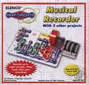 Snap Circuits Mini Musical Recorder SCP-01 with 3 Other Projects (Electronic Experiment Kit),Elenco Electronics