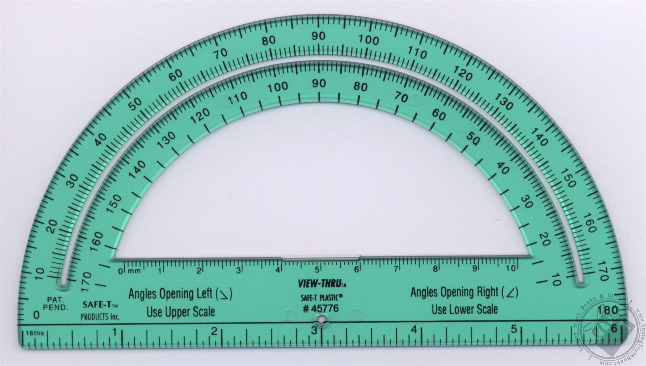Printable Protractor Actual Size Map
