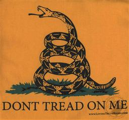 T-Shirt: Don't Tread on Me / Gadsden Short Sleeve (Adult Extra Large / XL),Loving Truth Books & Gifts