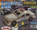 3-D Wooden Puzzle: Police Car (Wood Craft Construction Kit) 40 Pieces Ages 7 and Up (Puzzle/ Wooden),Puzzled Inc