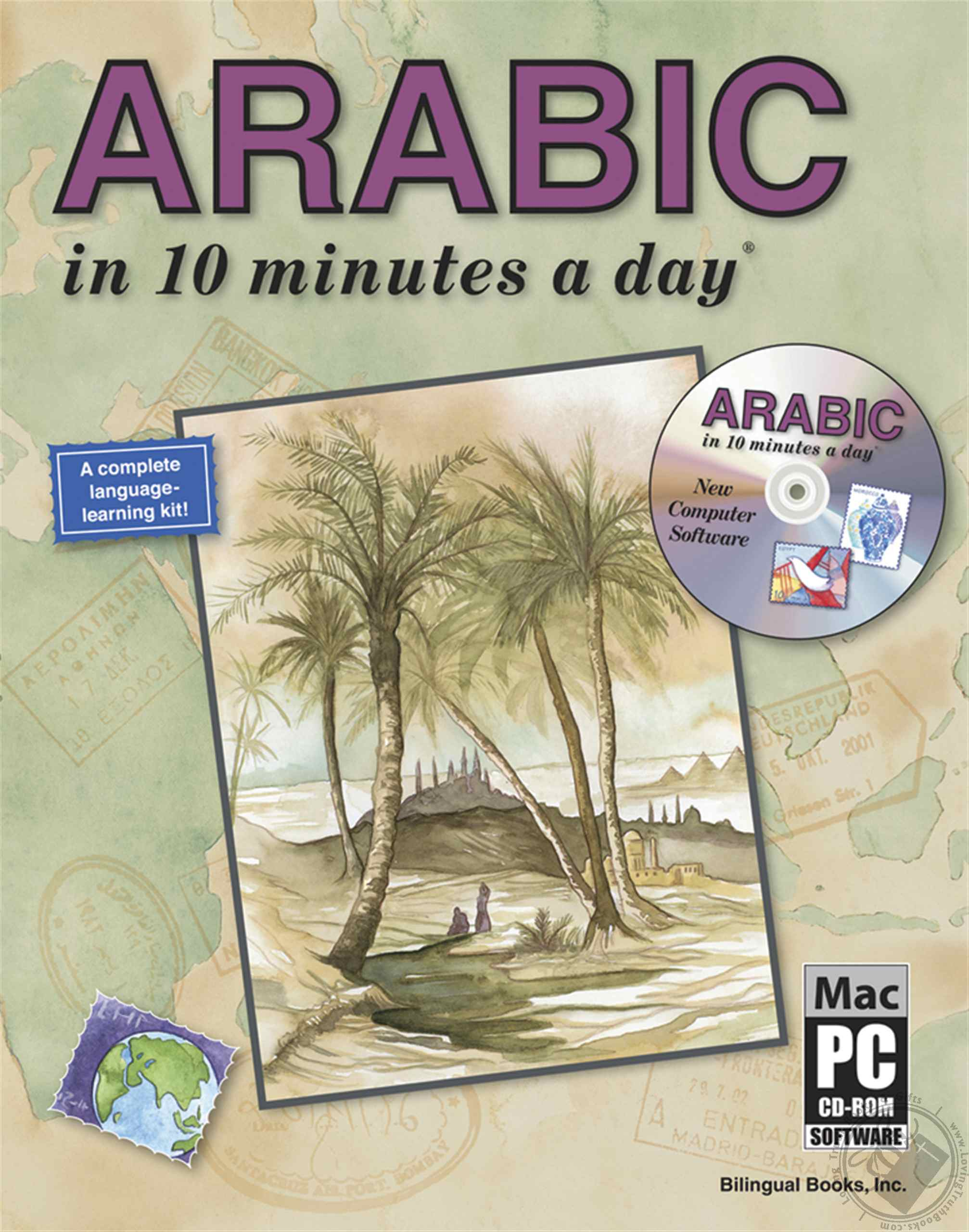 Arabic in 10 Minutes a Day with CD-ROM by Kristine K