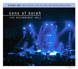 Live Recordings Volume 2 with Bonus Live in the Netherlands DVD,Sons of Korah