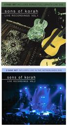 Set: Sons of Korah Live Recordings Volumes 1 and 2 (Includes 2 Bonus Live Recordings DVDs),Sons of Korah