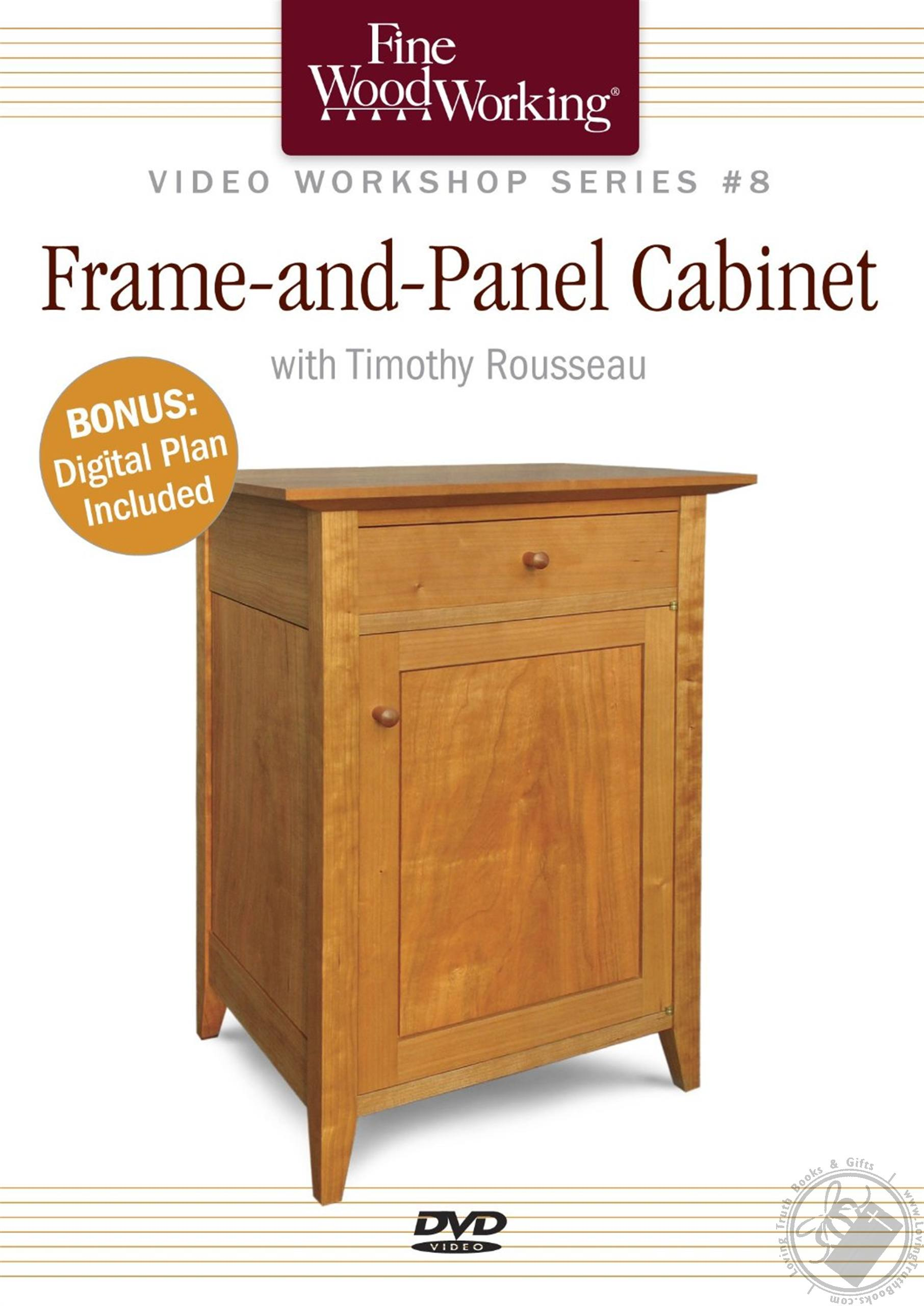 Frame and Panel Cabinet with Timothy Rousseau Includes Digital Plan (A Fine Woodworking DVD