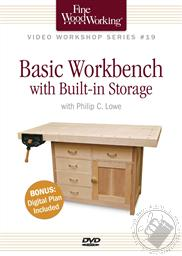 Basic Workbench with Built-in Storage with Philip C Lowe Includes Digital Plan (A Fine Woodworking DVD Workshop),Philip C Lowe