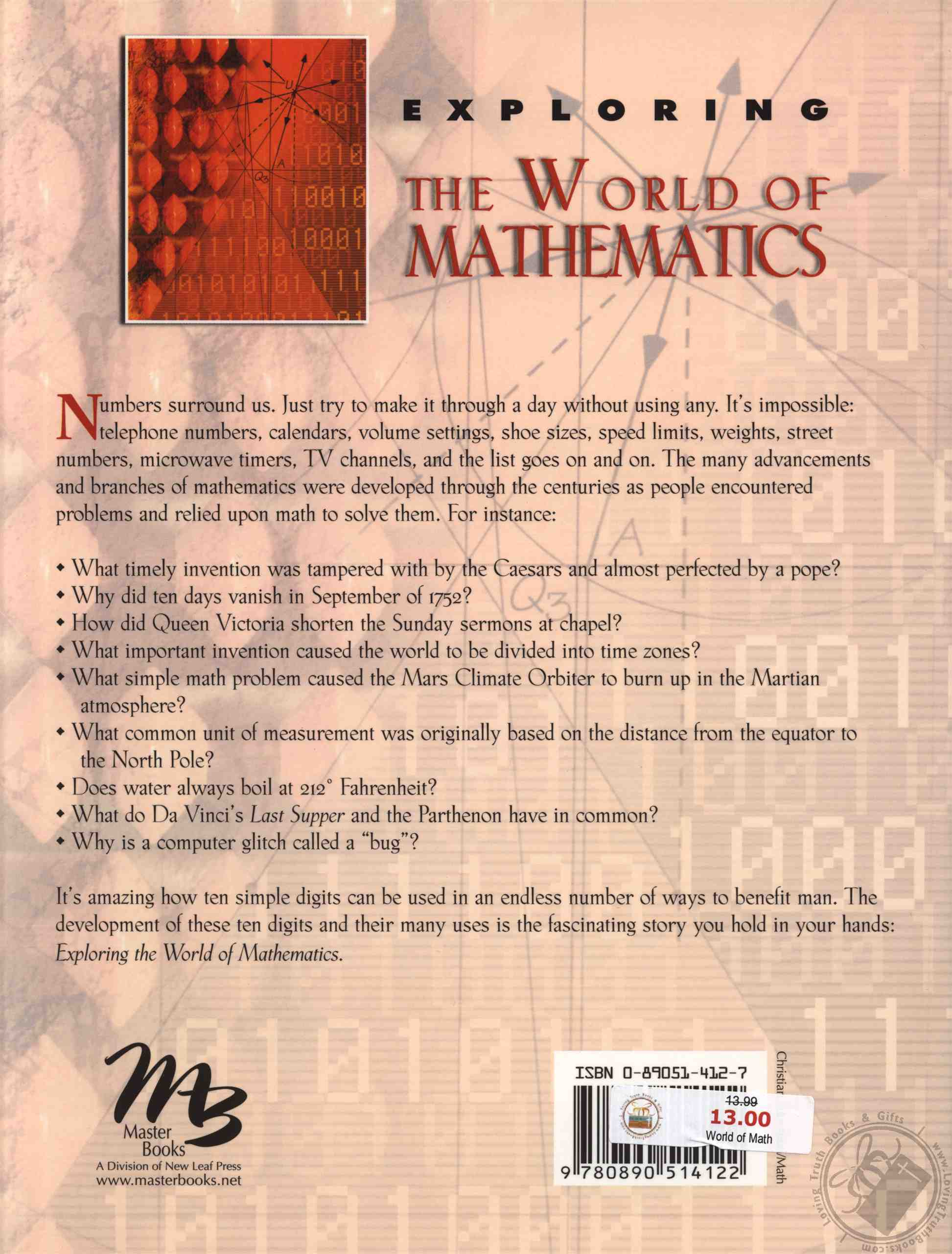 Exploring the World of Mathematics: From Ancient Record Keeping to