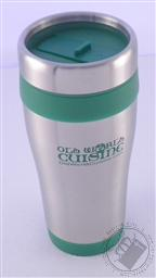 Old World Cuisine Stainless Steel Travel Mug,Old World Cuisine
